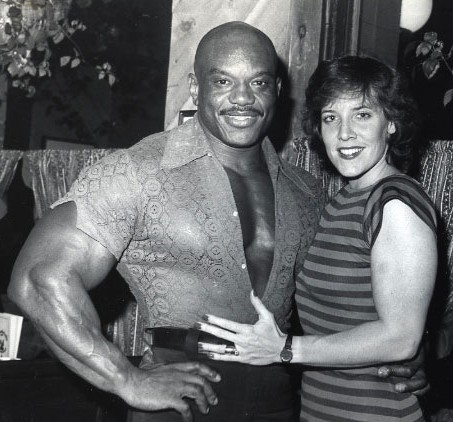 Sergio Oliva Wife